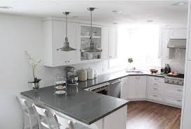 gray countertops white with gray countertops shaker cabinets these go to the