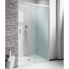 crosswater simpsons design soft close sliding shower door