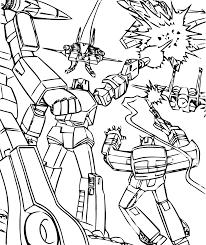 Coloriage Transformers Les Beaux Dessins De Super H Ros
