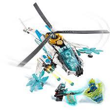 Đồ chơi lắp ráp xếp hình logo ninjago season phần 11 mô hình máy bay băng  tuyết và samurai ninja jay, zane Lari 11328. giá cạnh tranh