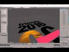 export ilrator svg logo into blender