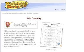 Create Your Own Skip Counting Worksheets | Mathematics @ Herne ...