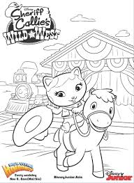 Small Picture httpcoloringscosheriff callie coloring pages Pages