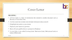Awesome Collection Of Cover Letter Job Definition In What Is Cover