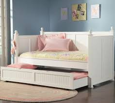 daybed with trundle. Furniture. White Daybed With Storage And Trundle