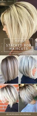 Best 25+ Medium stacked bobs ideas on Pinterest | Stacked bobs ...