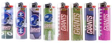 Bic Lighter Designs Bic New York Giants Lighters 8pk 8 Designs Officially Licensed