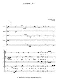 O intemerata - Alessandro Grandi Sheet music for Piano, Harpsichord (Mixed  Quintet)   Musescore.com