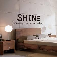 Wall Sticker Quotes Fascinating Shine Wall Sticker Quotes Vinyl Wall Decor Decals Boys Wall Decals