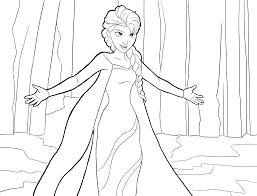 Disegni Da Colorare Gratis Frozen Elsa Fredrotgans