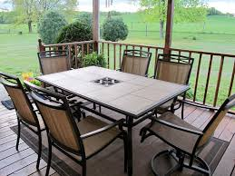 tile patio table top replacement amazing diy replace glass tabletop