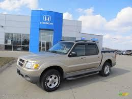 2002 Harvest Gold Metallic Ford Explorer Sport Trac 4x4 45498278
