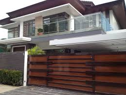 Small Picture Boundary Wall Gate Design Modern Wood Fence Wooden Photo Gallery