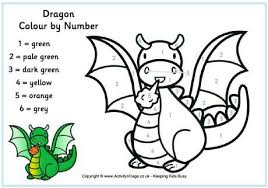 dragon pics to color. Exellent Pics Dragon Color By Number Inside Pics To Color I