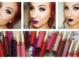anastasia of beverly hills liquid lipstick lip swatches review jaclyn hill