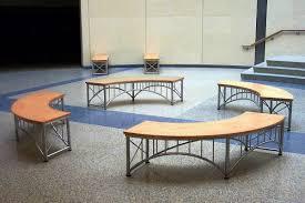 Curved Bench Indoor Design