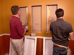 Built In Drywall Shelves How To Install Recessed Shelving How Tos Diy