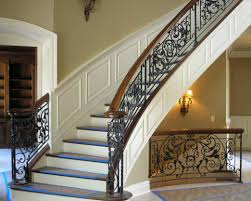 Wrought Iron Stair Railings Interior
