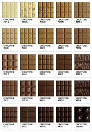 Pantone Brown Color Chart Choctone Chocolate Tone Of Pantone Colour Chart Pantone