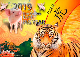 Tiger Love Compatibility Chart 2019 Horoscope For Tiger Chinese New Year 2019 Horoscope
