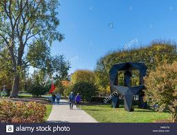 national gallery of art sculpture garden national mall washington dc usa