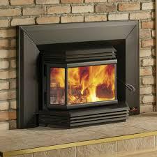 osburn 2200 high efficiency epa bay window woodburning insert with blower