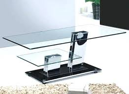 glass and chrome coffee table charming fanciful modern chrome glass stylish glass and chrome coffee table