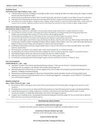 The Curriculum Vitae Handbook Mesmerizing Professional Resume Sample Sample Resume For A Logistics