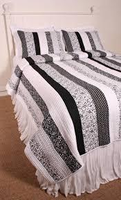 black and white quilts   Cottage Classics Tasha Black White Quilt ... & black and white quilts   Cottage Classics Tasha Black White Quilt Set Adamdwight.com