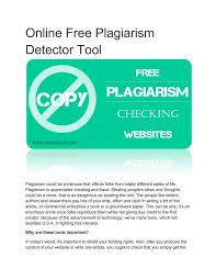 Best Online Plagiarism Checker With      Accuracy