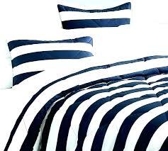blue and white stripe bedding navy striped comforter be navy blue and white bedding
