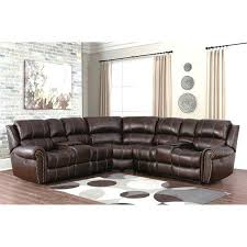 abbyson leather sectional leather sectional abbyson metropolitan top grain leather sectional and ottoman