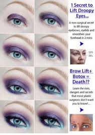 eye makeup tips for droopy eyelids