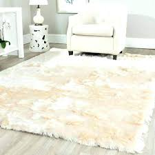 small flokati rug sheepskin seat throw synthetic fur rug soft carpet white faux white rug sheepskin
