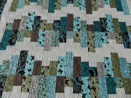 Aqua and Brown Quilt & Attached Images Adamdwight.com