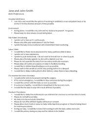 C Section Birth Plan Examples 40 Inspirational C Section Birth Plan Worksheet Free Worksheets
