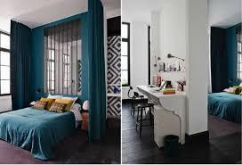 Dark Blue Bedroom Idea