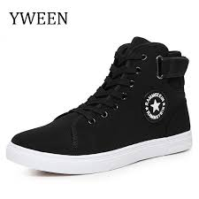 <b>Yween</b> Men Canvas Shoes <b>Spring Autumn</b> Top Sneakers Lace-Up ...