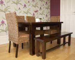 chair round wood dining table design image of dark and chairs ebay
