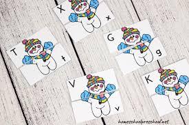 Kindergarten level 1 reading activities: Printable Winter Literacy Activities For Preschoolers
