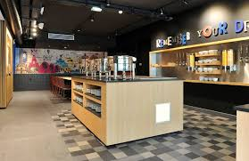 urban chic hotel design with a mix of mosa tiles