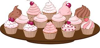 vintage cupcakes drawing.  Cupcakes Bake Sale Clip Art Of A Cupcake With Sprinkles Cake Clipart And Vintage Cupcakes Drawing