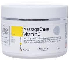 SKINDOM Massage Cream Vitamin С <b>массажный крем для лица</b> с ...