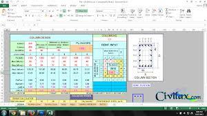 Design Chart For Rectangular Column Design Of Rcc Rectangular Columns For Biaxial Bending
