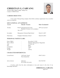 Brilliant Ideas of Resume Personal Information Sample About Resume .