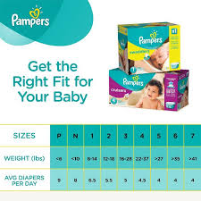 Pampers Weight Chart Veracious Weight For Size 4 Diapers 2019
