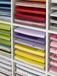 Paper Storage Shelving