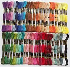 Anchor Floss Colour Chart Parag Anchor Skeins 6 Strands Cotton Embroidery Cross Stitch