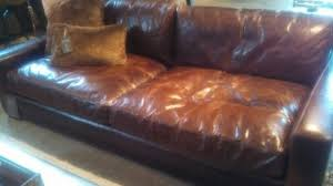 Comfy Leather Couch a2zmoonlightercom