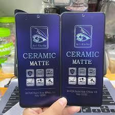 Protector de pantalla de rayos azules anti radiación para Xiaomi REDMI NOTE  10 10 PRO Ceramic | Shopee México